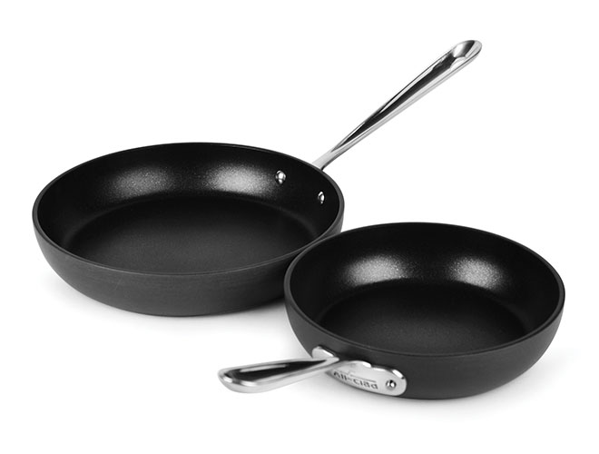 All-Clad HA1 Nonstick 8 & 10-inch Skillet Set