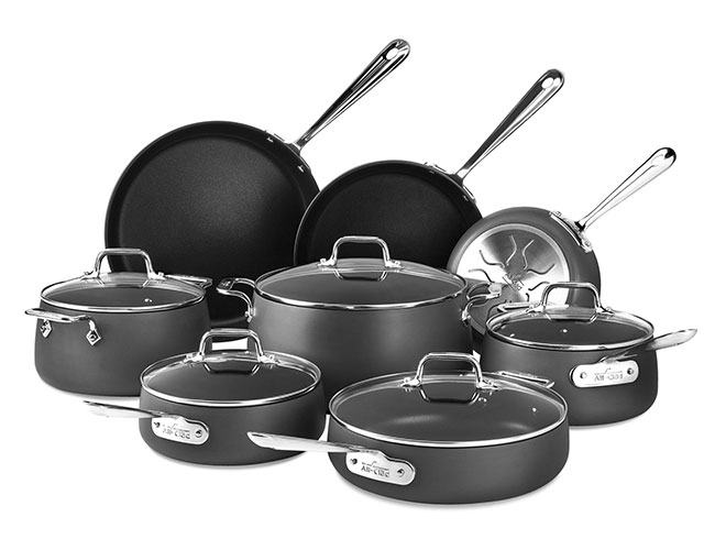 All-Clad HA1 Nonstick 13 Piece Cookware Set