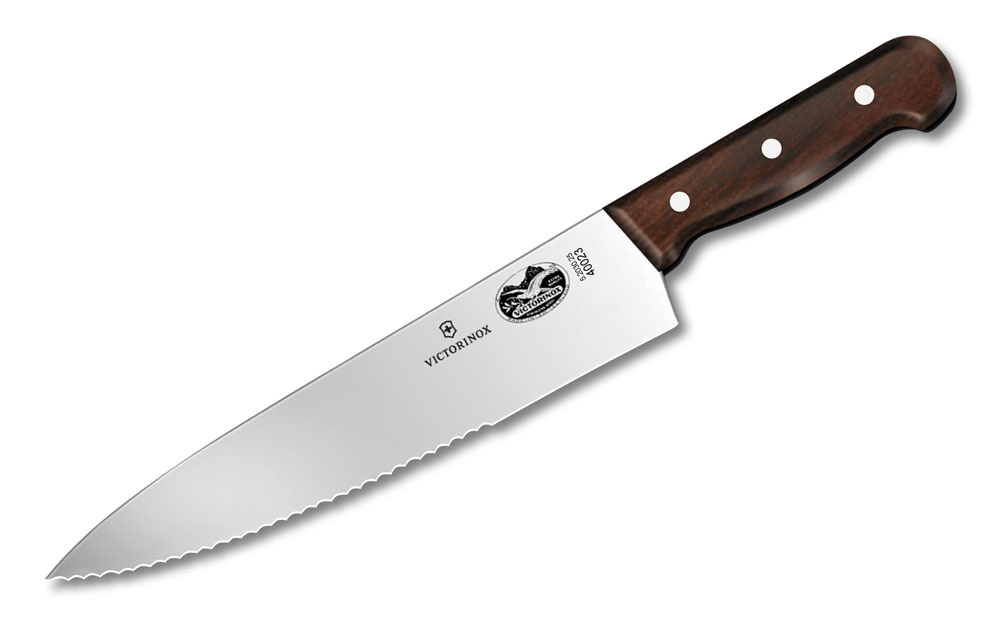 Victorinox Rosewood Serrated Chef's Knives