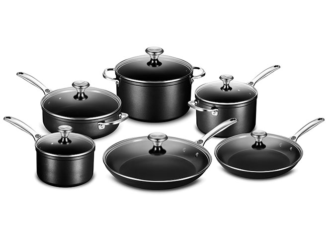 Le Creuset Toughened Nonstick 12 Piece Cookware Set