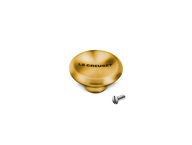 Le Creuset Signature Cast Iron Medium Gold Knob
