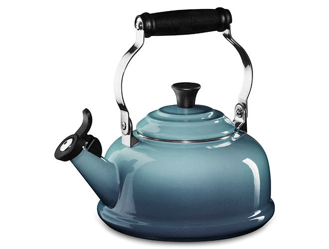 Le Creuset Enameled Steel 1.8-quart Whistling Tea Kettles