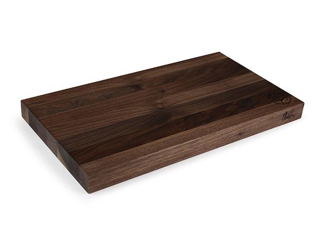 """Cotton and Dust 20x11x1.5"""" The Matthew Black Walnut Cutting Board"""