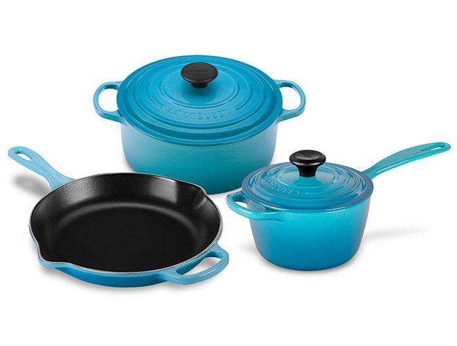 Le Creuset Signature Cast Iron 5-piece Cookware Set