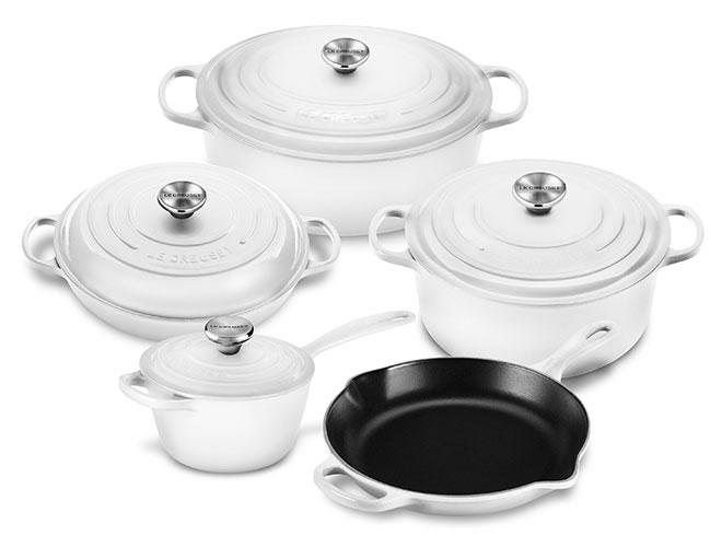 Le Creuset Signature Cast Iron 9-piece Cookware Set