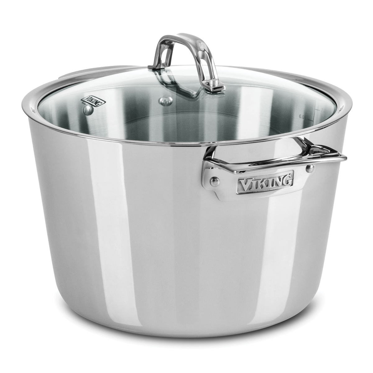 Viking 8-quart Contemporary Tri-Ply Stainless Steel Stock Pot