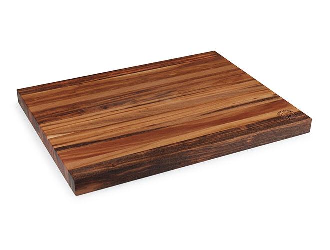 "Cotton and Dust 24x18x1.5"" The Severyn Tigerwood Cutting Board"