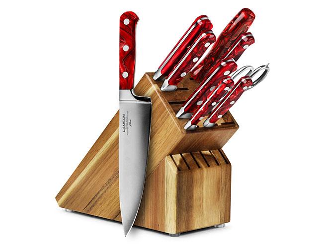 Lamson Fire 10 Piece Knife Block Sets