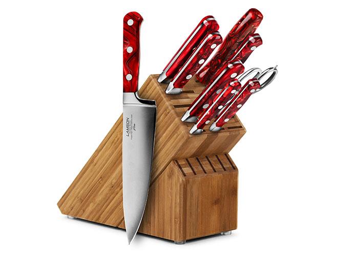 Lamson Fire 10 Piece Knife Block Sets