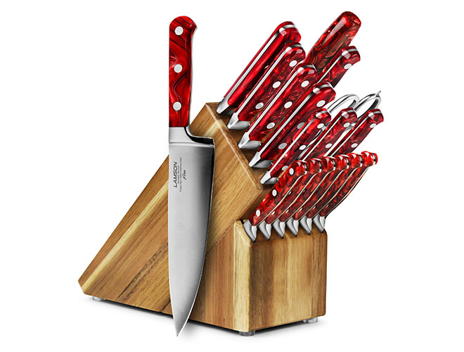 Lamson Fire 18 Piece Knife Block Sets