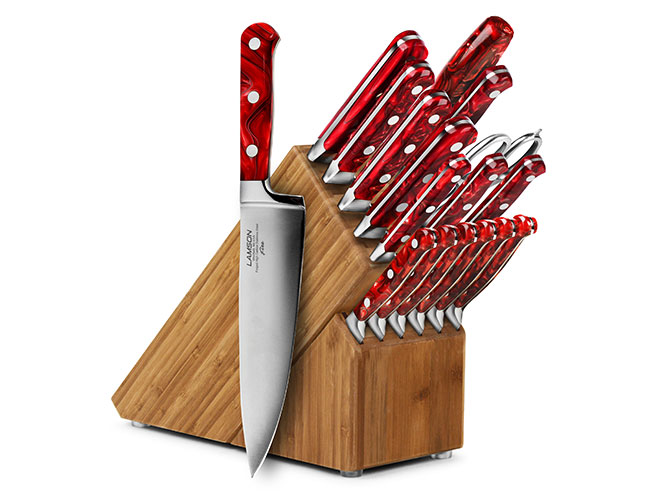 Lamson Fire 18 Piece Knife Block Sets