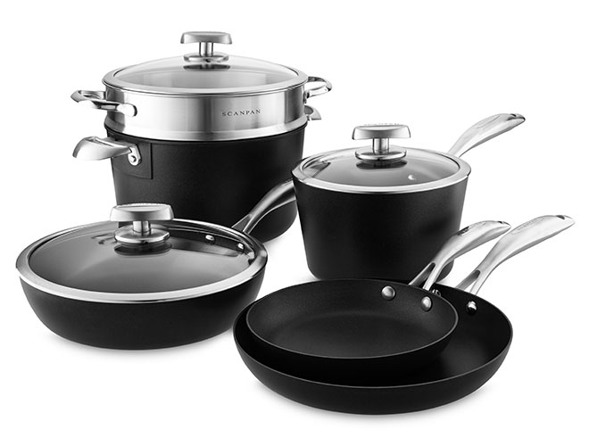 Scanpan Pro IQ Stratanium 9 Piece Nonstick Cookware Set