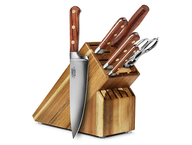 Lamson Rosewood 7 Piece Knife Block Set