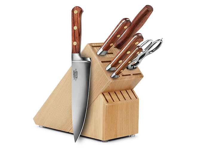 Lamson Rosewood 7 Piece Knife Block Set