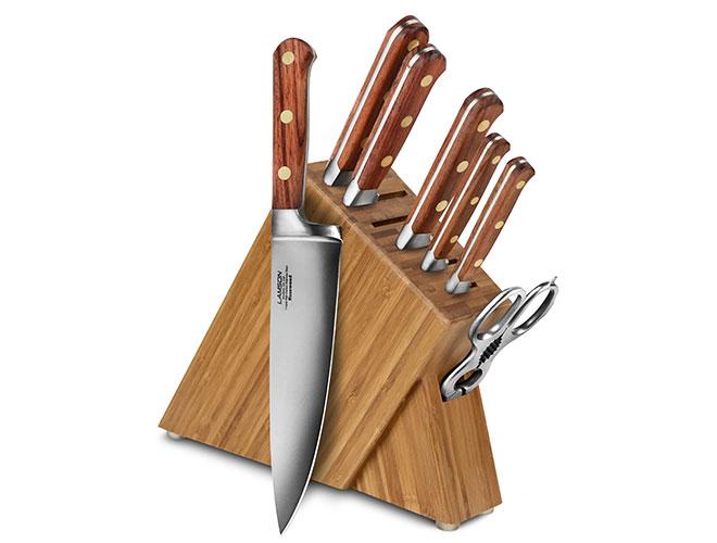 Lamson Rosewood 8 Piece Slim Knife Block Sets