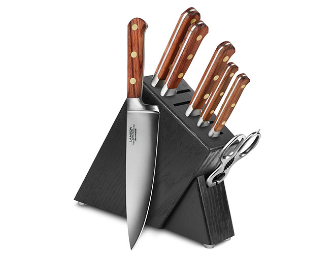 Lamson Rosewood 8 Piece Slim Knife Block Sets