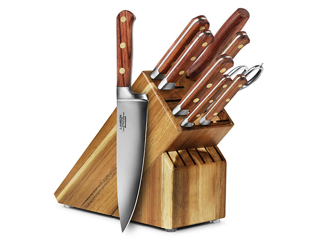 Lamson Rosewood 10 Piece Acacia Knife Block Set