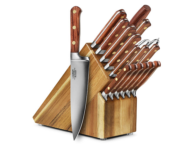 Lamson Rosewood 18-piece Knife Block Set