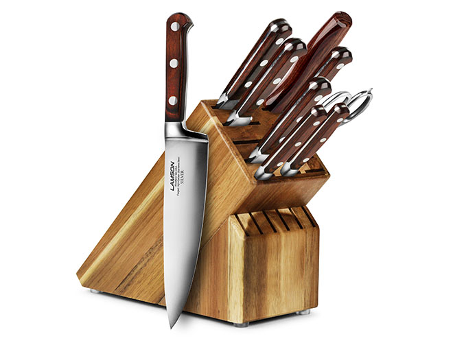 Lamson Silver 10 Piece Knife Block Set