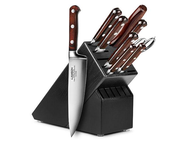 Lamson Silver 10 Piece Knife Block Set