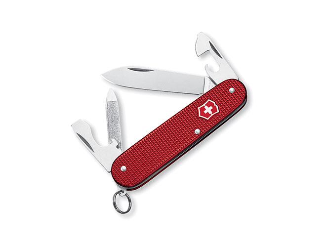 Victorinox Swiss Army Red Alox Cadet Pocket Knife