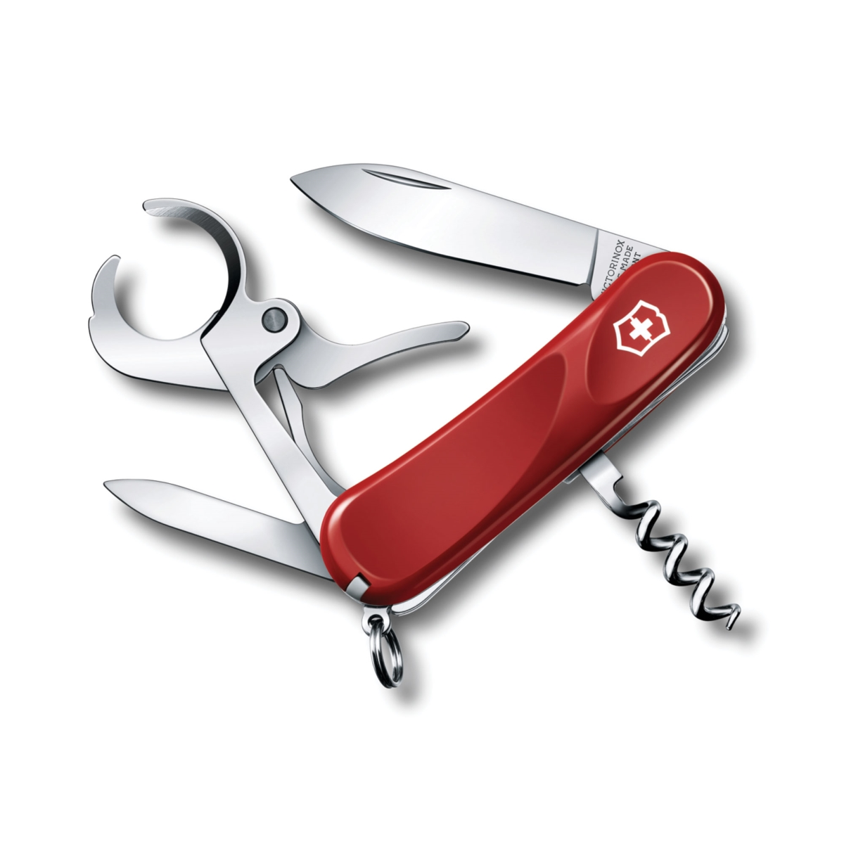 Victorinox Swiss Army Red Cigar 36 Pocket Knife with Cigar Cutter