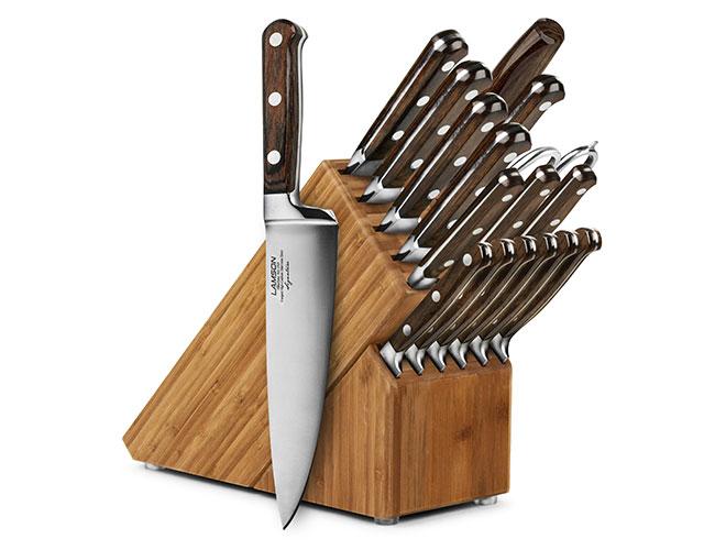 Lamson Signature 18 Piece Bamboo Knife Block Set