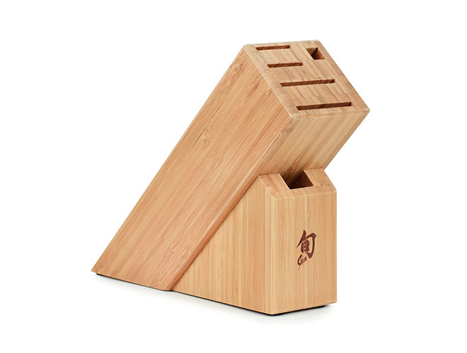 Shun 6 Slot Slimline Knife Block