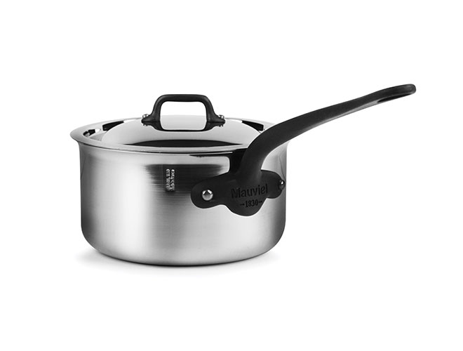 Mauviel M'cook Pro Stainless Steel Saucepans