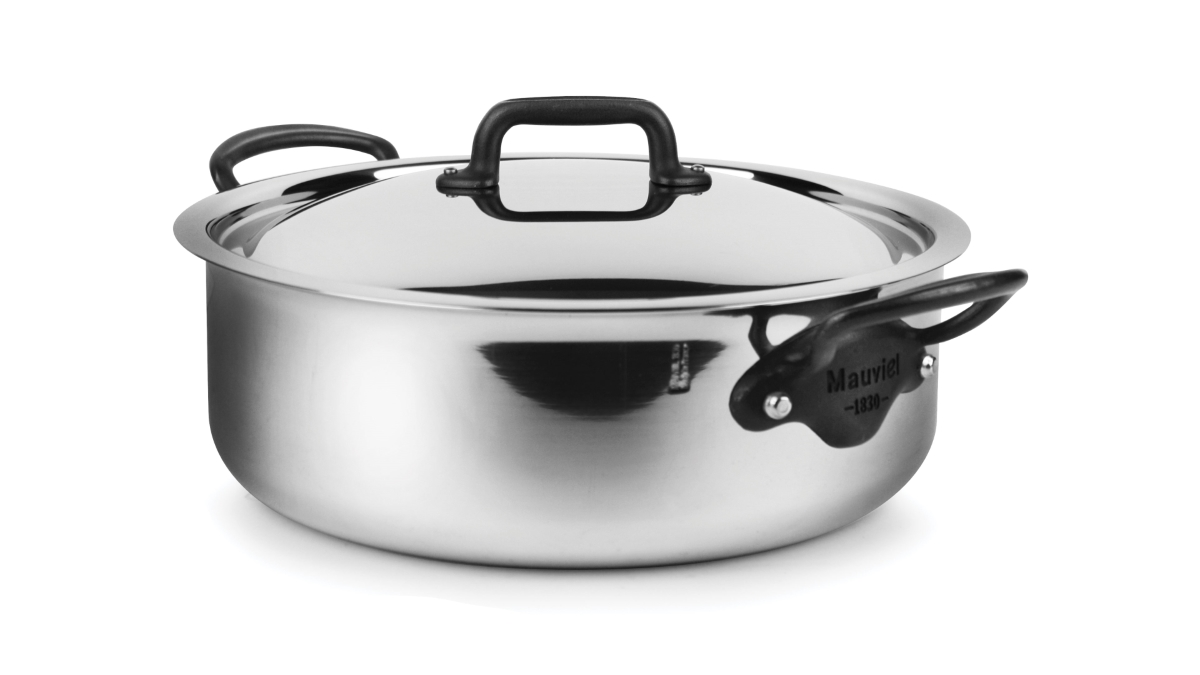 Mauviel M'cook Pro Stainless Steel 5.8-quart Rondeau