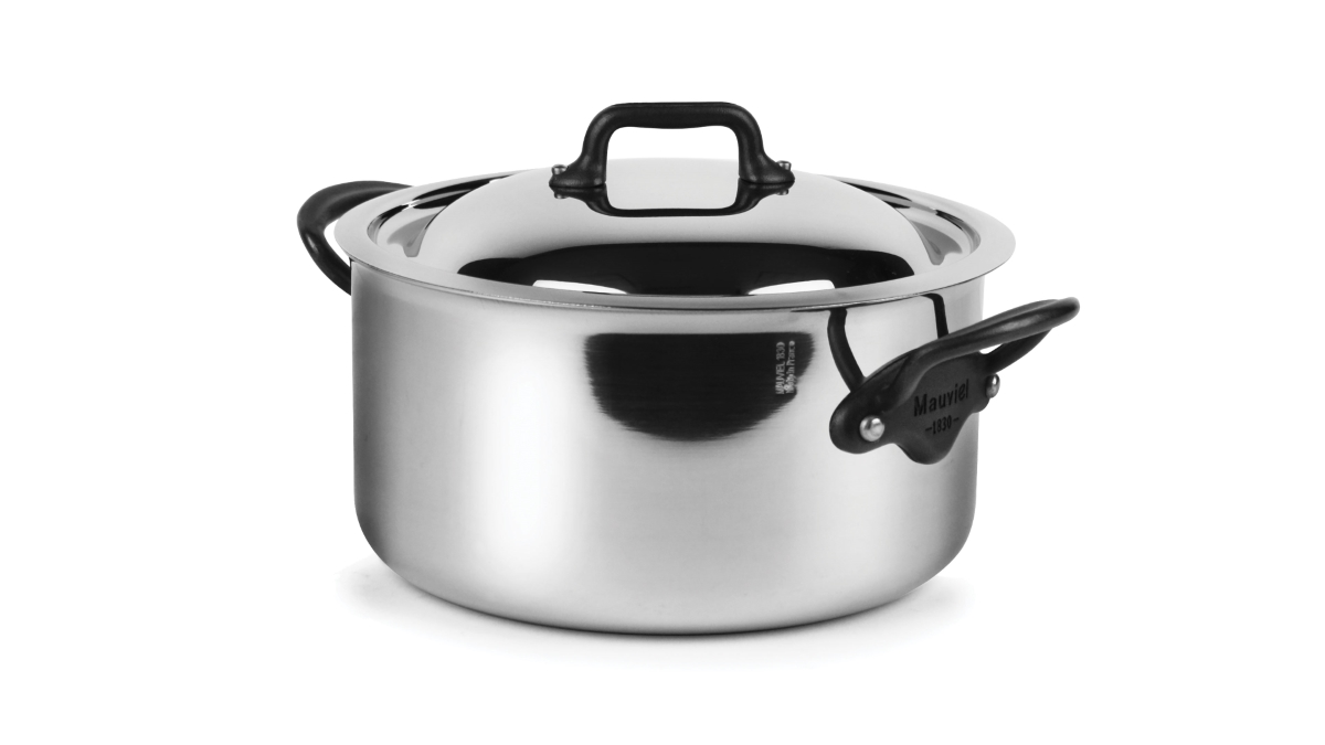Mauviel M'cook Pro Stainless Steel 3.6-quart Casserole
