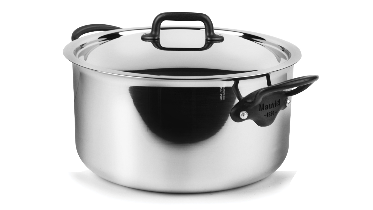 Mauviel M'cook Pro Stainless Steel 9.1-quart Stock Pot