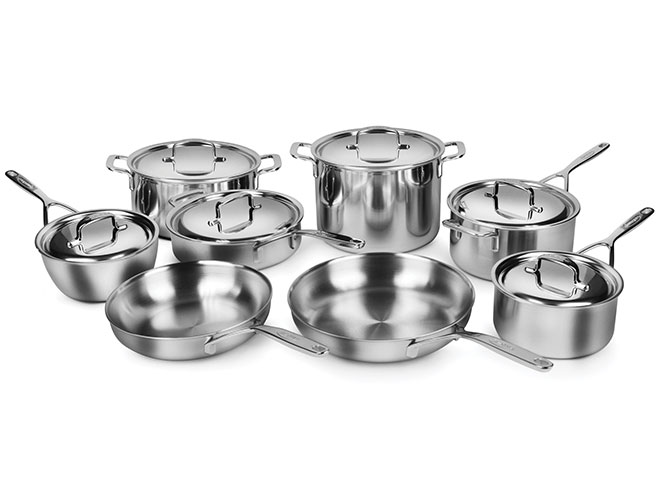 Demeyere 5-Plus 14 Piece Stainless Steel Cookware Set