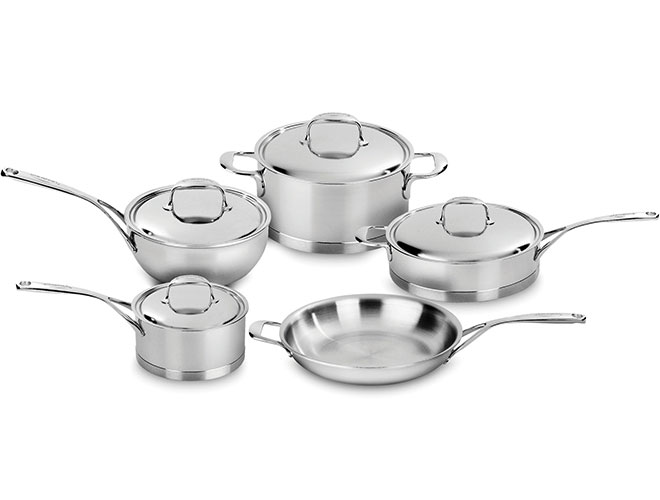 Demeyere Atlantis 9 Piece Stainless Steel Cookware Set