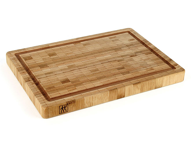 "Zwilling J.A. Henckels 14x10x1.2"" Bamboo Cutting Board with Groove"