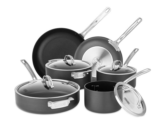 Viking Hard Anodized Nonstick 10 Piece Cookware Set