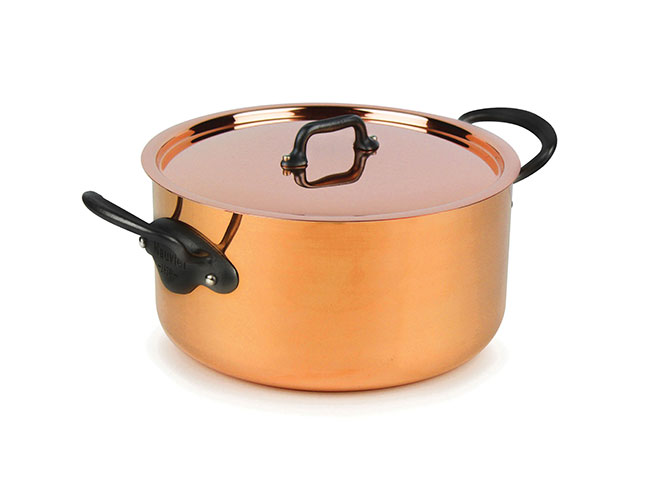 Mauviel M'heritage 250C 2.5mm Copper Stock Pots