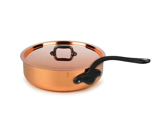 Mauviel M'heritage 250C 2.5mm Copper Saute Pans