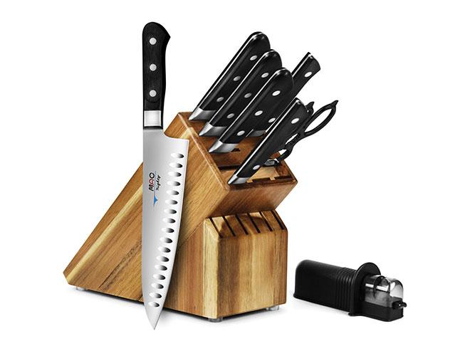 MAC Professional 9-piece Knife Block Sets