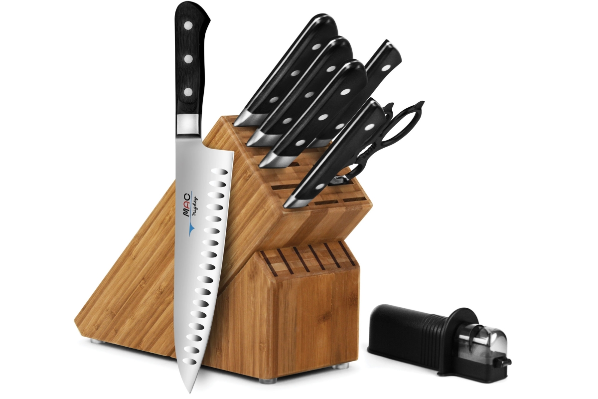 MAC Professional 9-piece Knife Block Sets