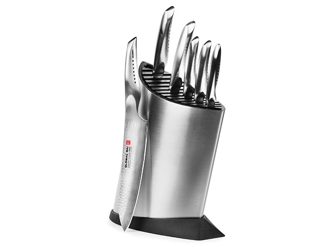 Global Sai 7 Piece Deluxe Knife Block Set