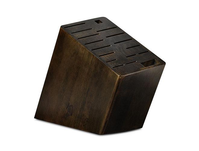 Shun 17 Slot Angled Knife Block