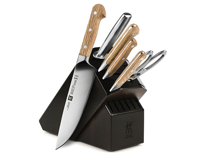 Zwilling J.A. Henckels Pro Holm Oak 7 Piece Knife Block Set