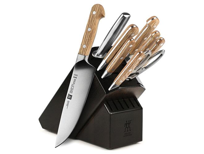 Zwilling J.A. Henckels Pro Holm Oak 10 Piece Knife Block Set