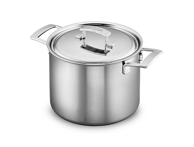 Demeyere Industry5 8-quart Stainless Steel Stock Pot