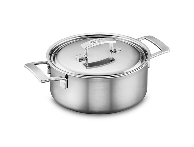Demeyere Industry5 Stainless Steel Dutch Oven 5 5 Quart