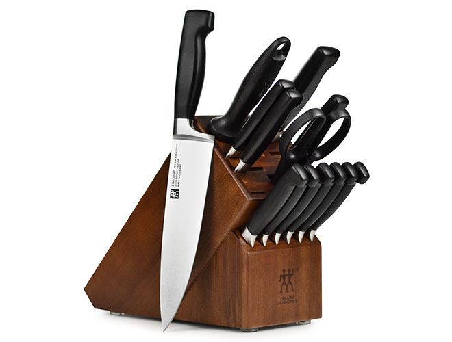 Zwilling J.A. Henckels Four Star 14-piece Knife Block Set