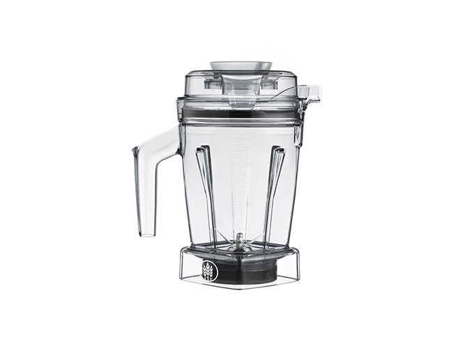 Vitamix 48oz Dry Blade Container with Tamper for Ascent Series Blenders