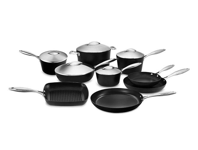 Scanpan Professional Stratanium 14 Piece Nonstick Cookware Set