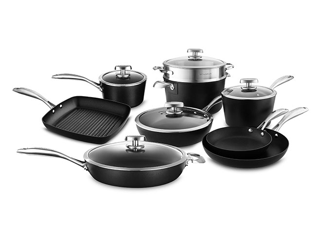 Scanpan Pro IQ Stratanium 14 Piece Nonstick Cookware Set